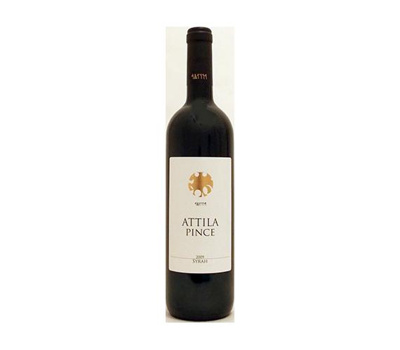 Attila Pince Syrah 2009 száraz vörösbor