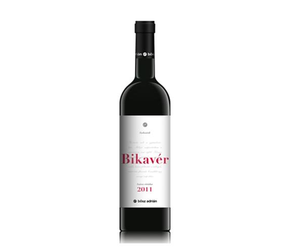 Bősz Adrián Bikavér 2011 száraz vörösbor