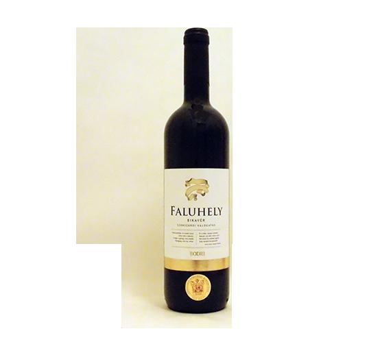 Bodri Szekszárdi Bikavér válogatás Faluhely 2011 száraz vörösbor