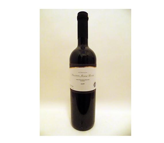 Iványi Zsófi Ignác Cuvée 2008 száraz, szűretlen vörösbor