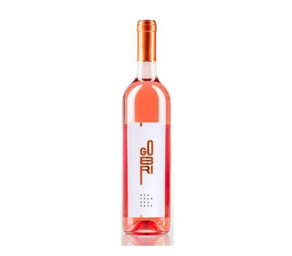 Gobri Kékfrankos Rosé 2015 száraz rosébor